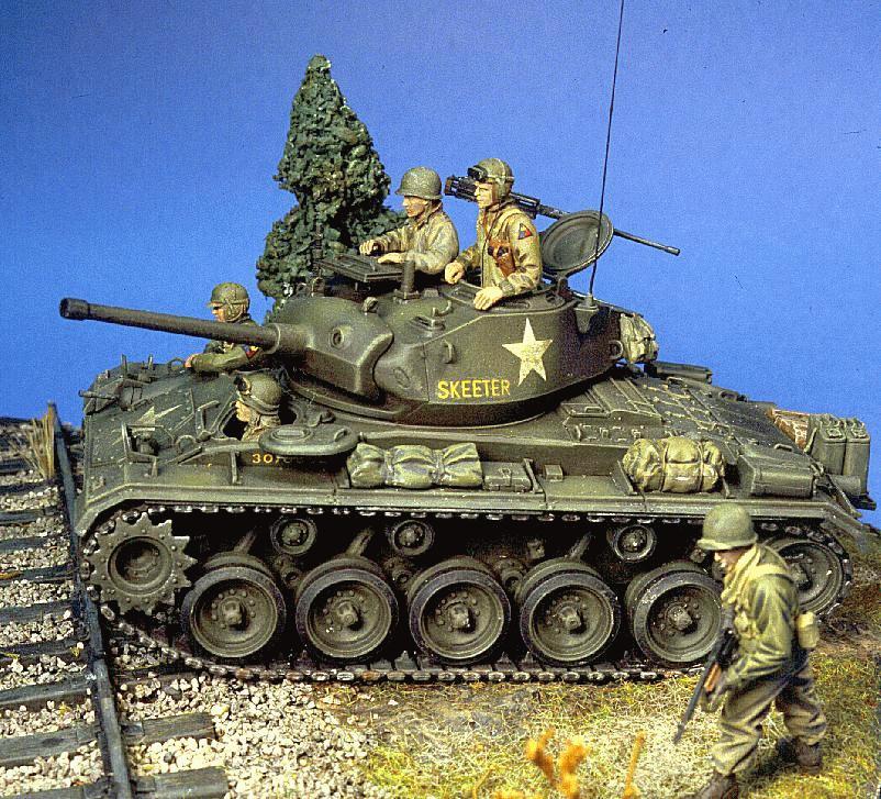 Chafee M24 Tank
