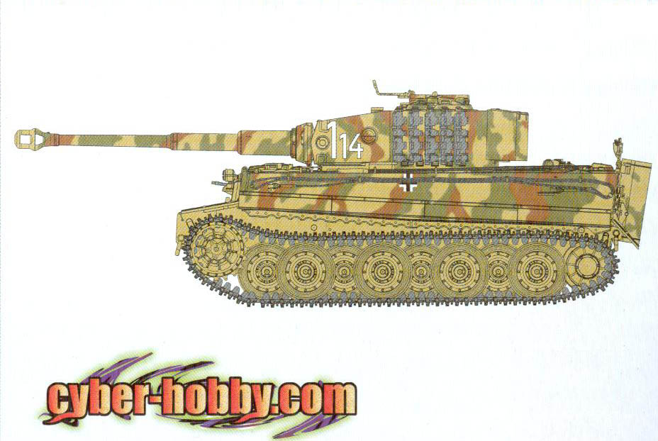 online store 1515f 83c0c cyber-hobby.com 1 35 scale Tiger I Feb. 1944 Production - Smart Kit  (Kit  No. 67)